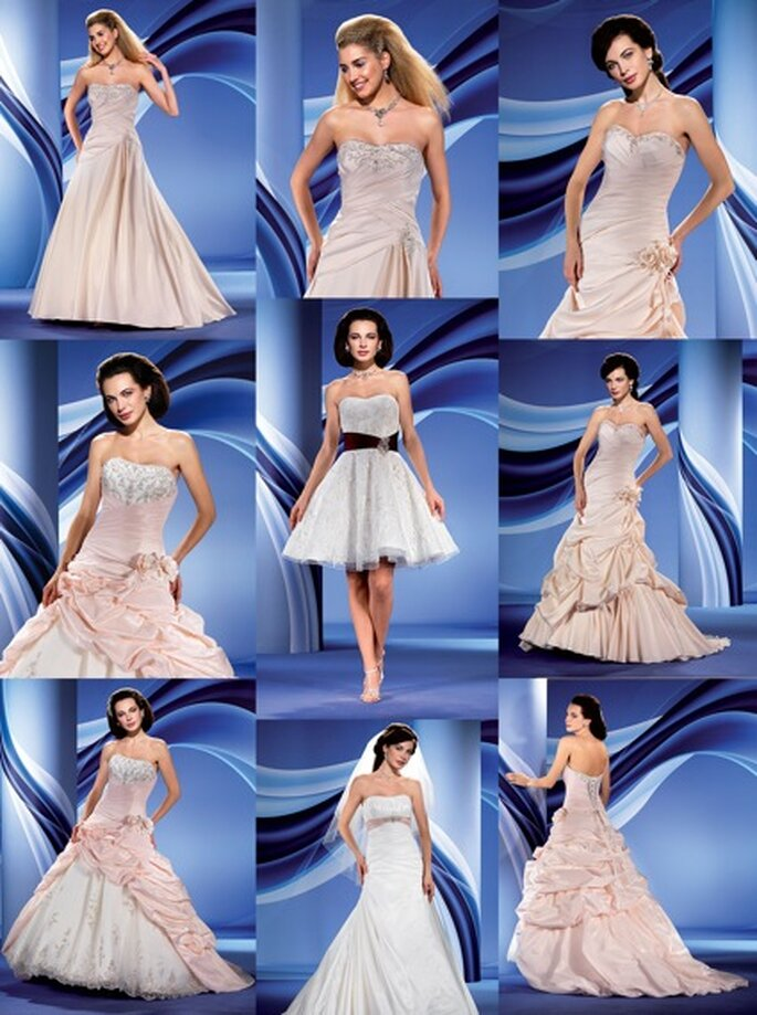 farbige Modelle aus der Eddy K Kollektion: Rhianna, Natalia, Nadia, Nuria & Sandy
