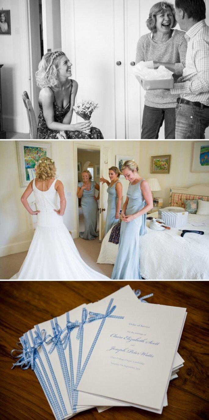 An elegant English wedding