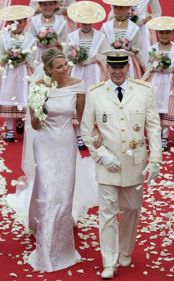Damas de honor en la boda real