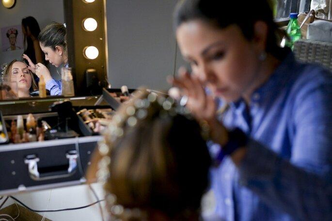 Flynn's Luz Enit -Maquillaje