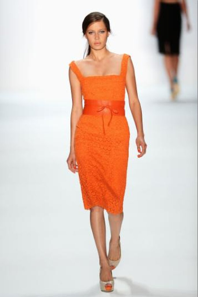 Laurel: Mercedes Benz Fashion Week SpringSummer 2013. Foto de Image.net