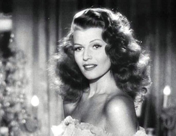 Rita Hayworth en Gilda, una inspiración para novias.