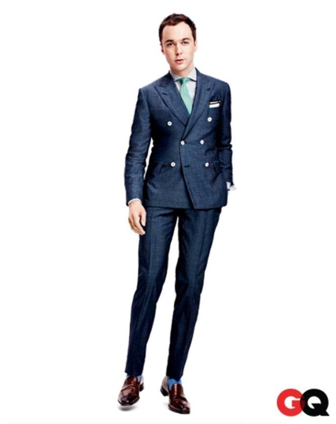 Elegante traje clásico en color azul para el novio - Foto GQ