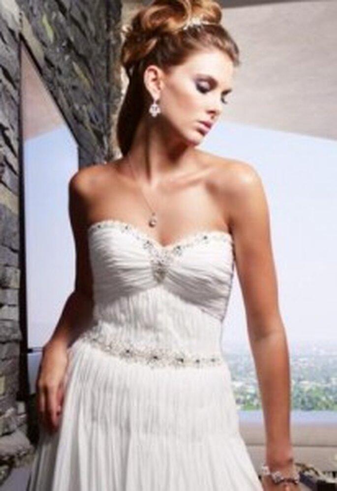 Un vestido blanco muy ligero