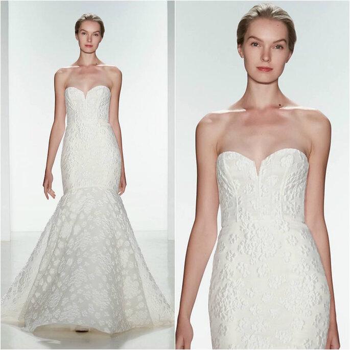 El vestido de novia perfecto para las más chaparritas - Amsale