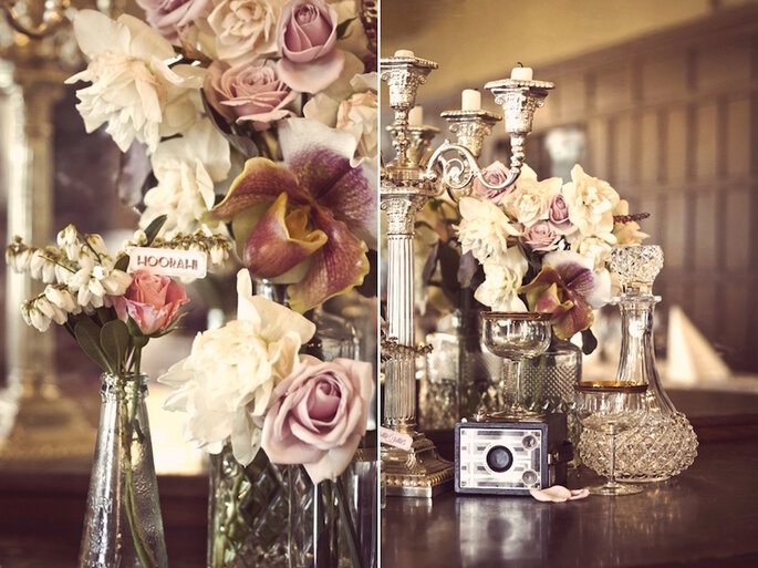 Inspiración hermosa para una boda elegante - Foto de Jenn Hadley y Sarah McEvoy