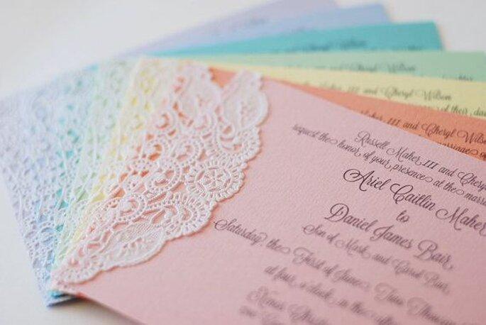 wedding invitations making session