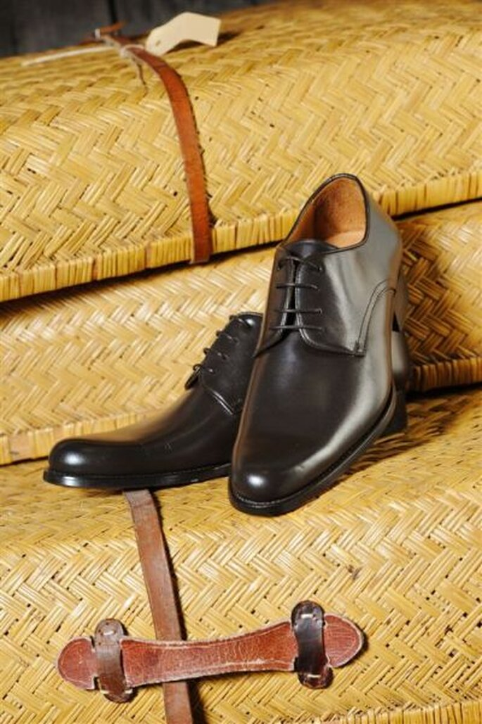 PLS Roger dark brown aus der Kollektion MEn. von Elsa Coloured Shoe - Foto: http://www.elsacolouredshoes.de