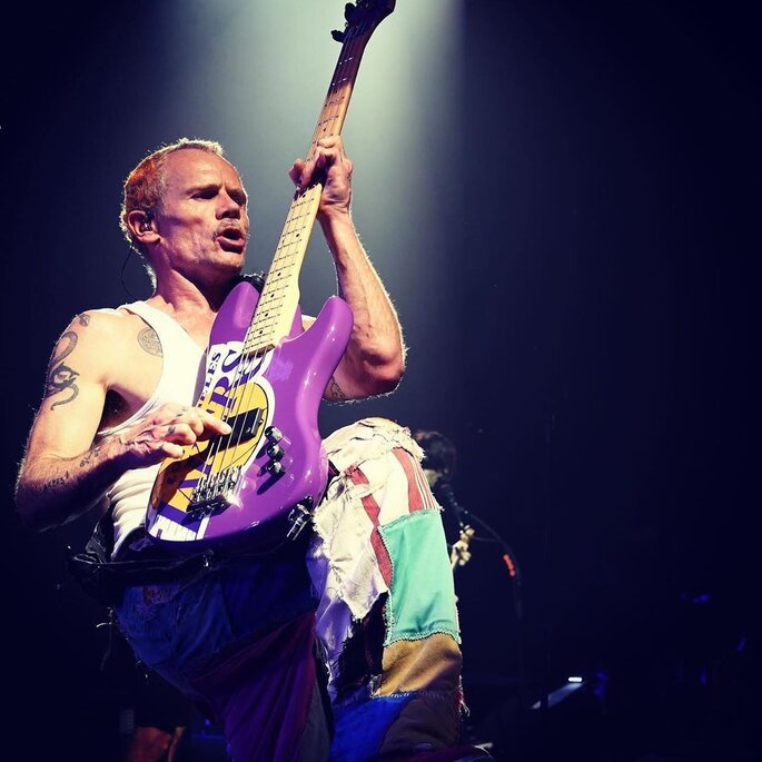 casamento Flea Red Hot Chili Peppers e Melody Ehsan