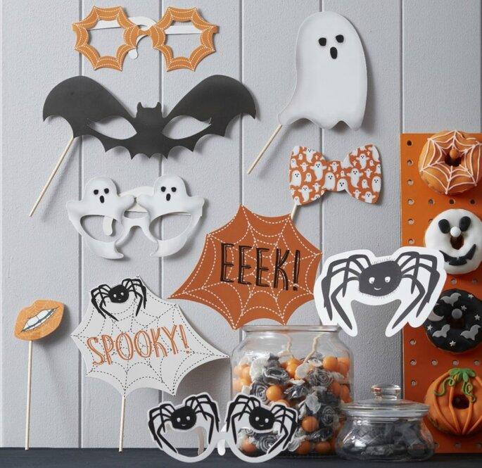 Photobooth Halloween Props