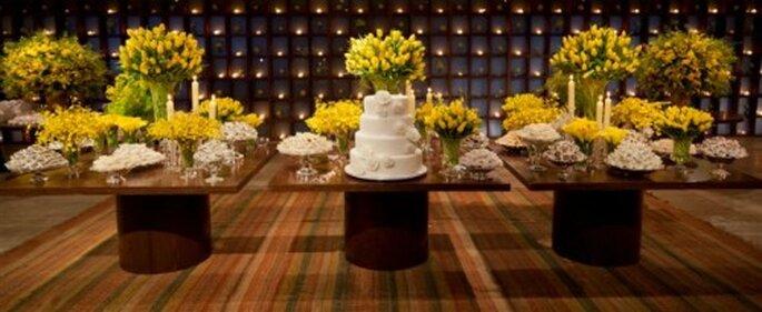 decoracao casamento azul marinho e amarelo : decoracao casamento azul marinho e amarelo: apostam nos tons de amarelos e terracotas que trazem luz e alegria