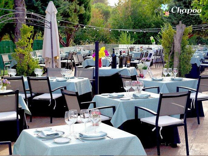 Restaurante Chapoo, Restaurantes bodas Madrid