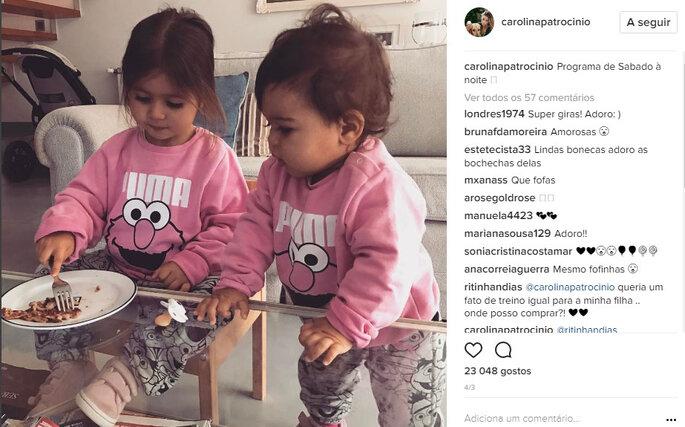 Instagram @carolinapatrocinio