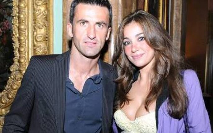 Christian Panucci e Rosaria Cannavó