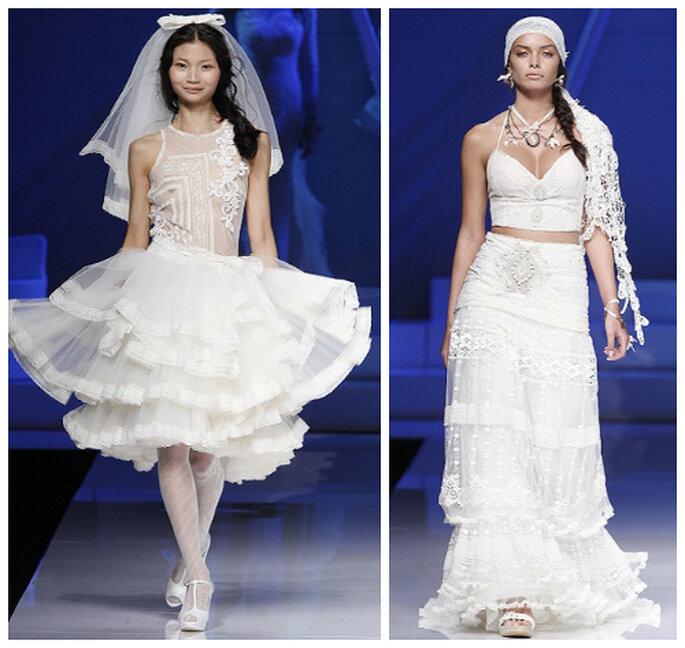 dziewczęce suknie ślubne boho