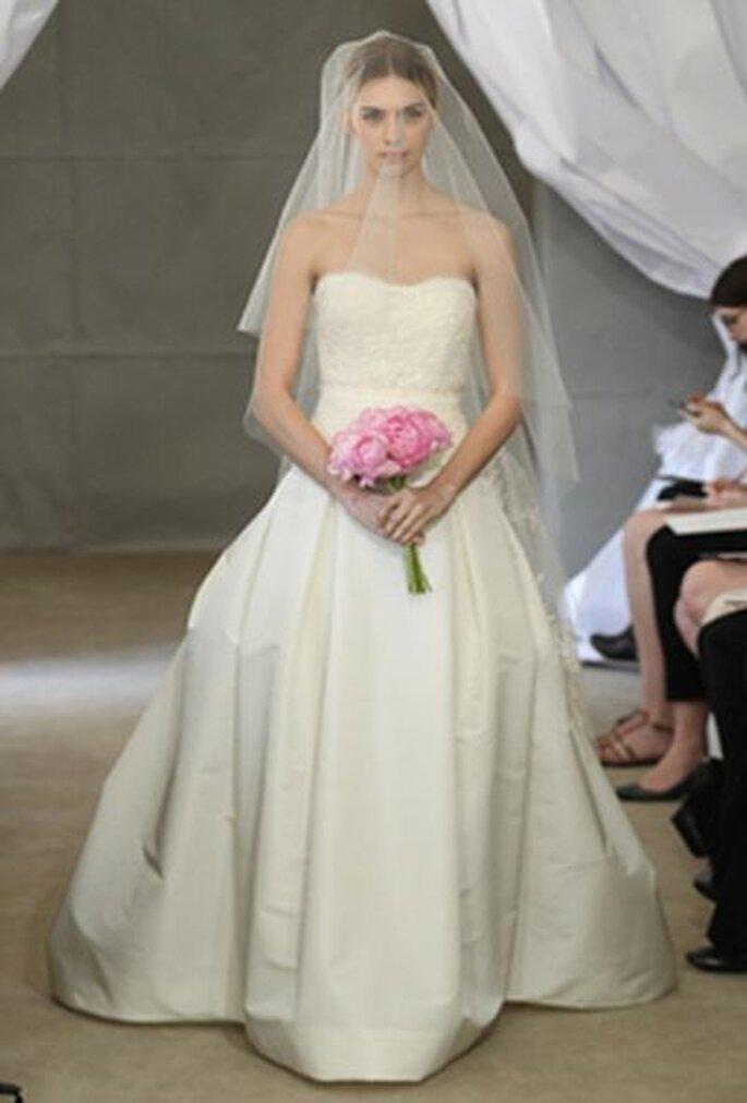 wunderschönes Hochzeitskleid von Carolina Herrera