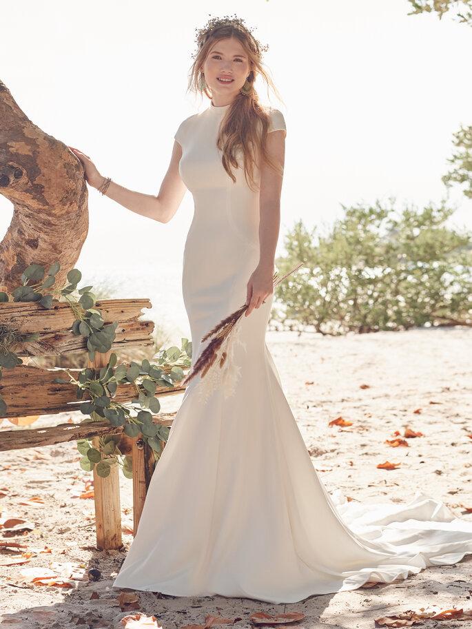Minimalistische Brautkleider
