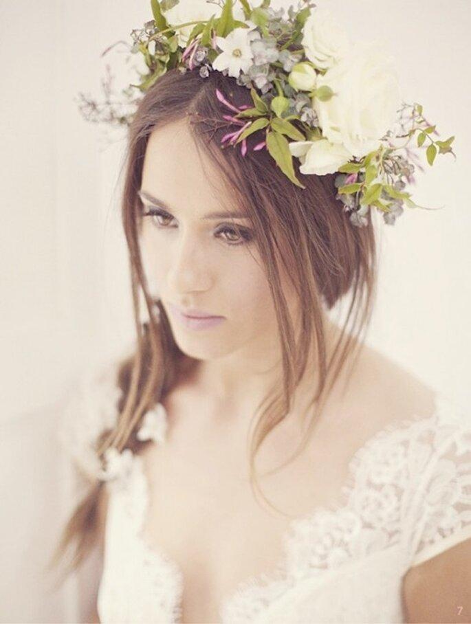 8 claves para lucir más joven con tu maquillaje de novia - Foto Sarah Gawler