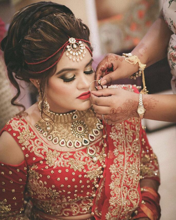 Makeup Artist: Kriti DS.