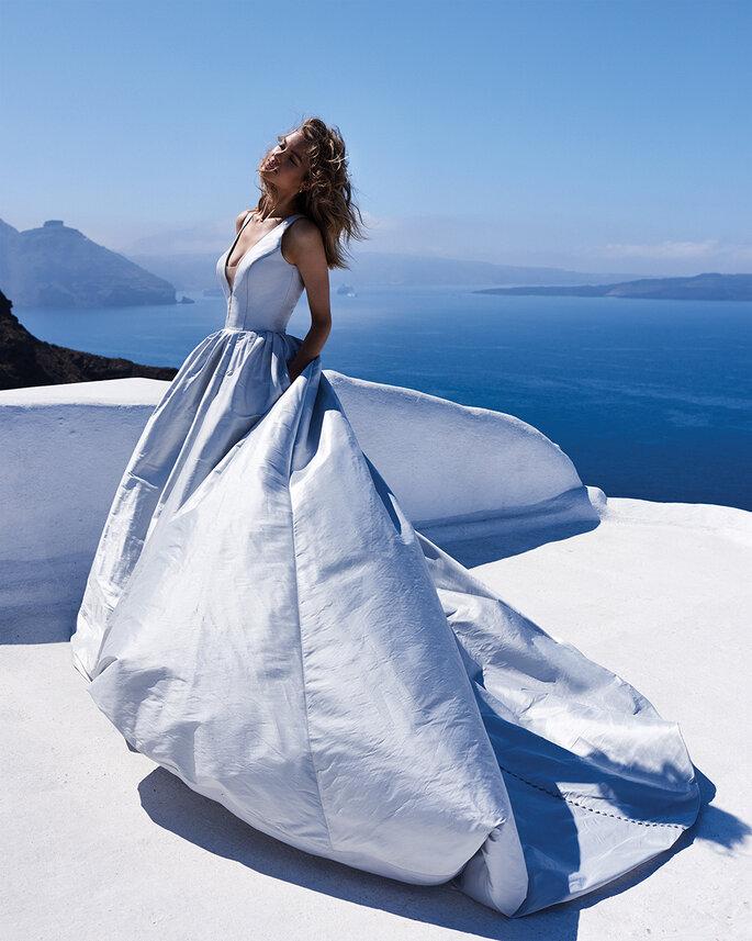 Greek wedding with Justin Alexander.
