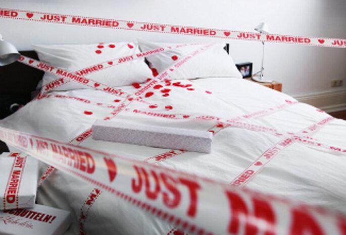 """Hochzeitsklebeband """"Just Married"""""""