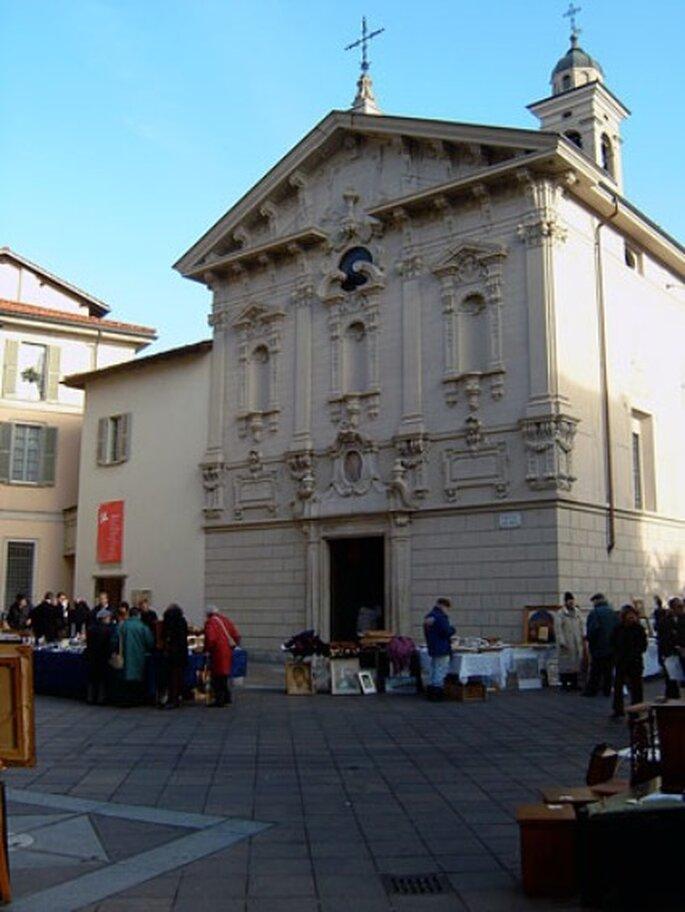 Heiraten in Lugano: Kirche San Rocco.
