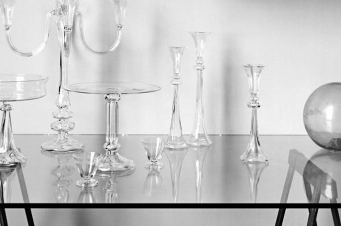 Cristaleria para boda. Fotografìa BHDNL