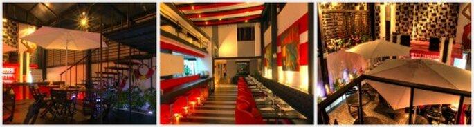 Espacios con estilo lounge para bodas contemporaneas. Fotos: Malanga Latino Lounge