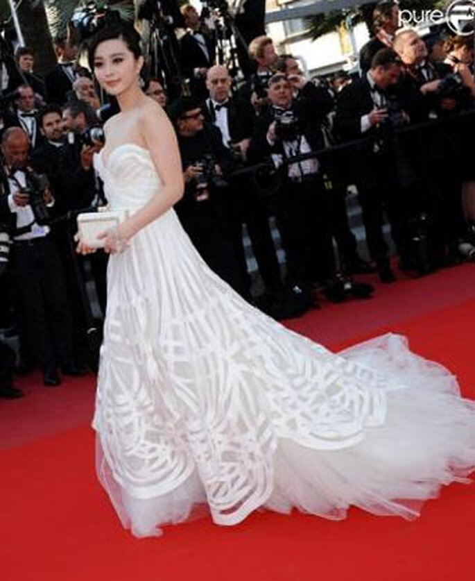 Fan Bingbing en Elie Saab - Cannes 2010