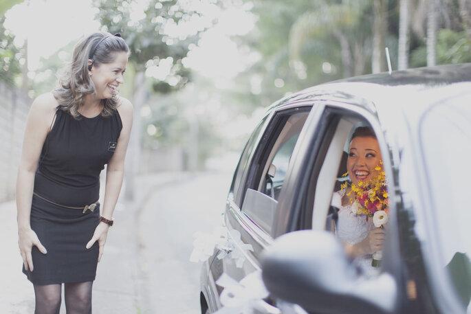 Profissionais com expertise para tranquilizar os noivos