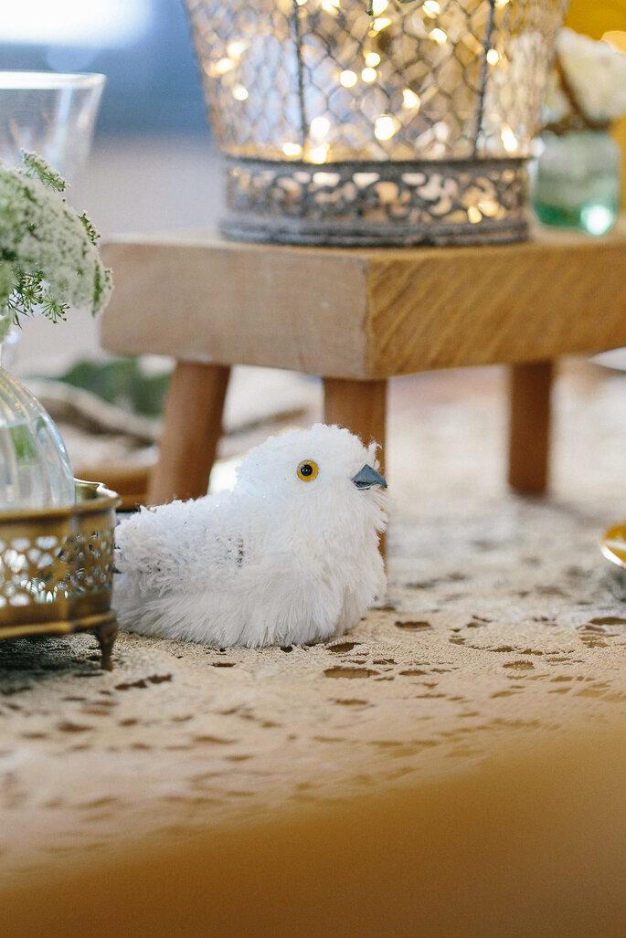 Decoração com passarinhos para casamentos