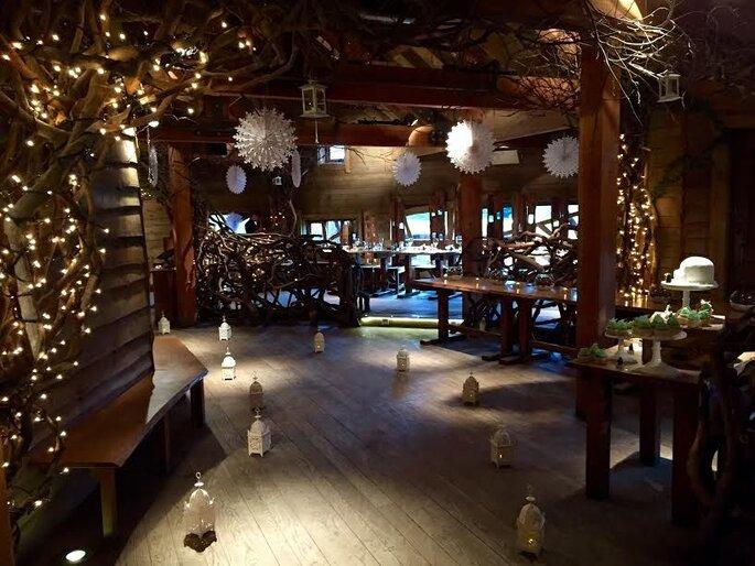 The Alnwick Garden Treehouse - inside