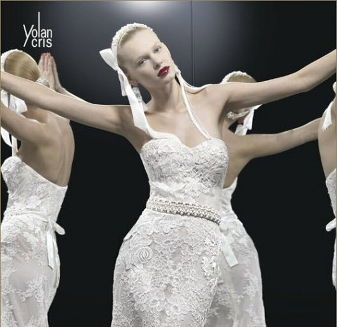 Vestido de noavia Yolan Cris