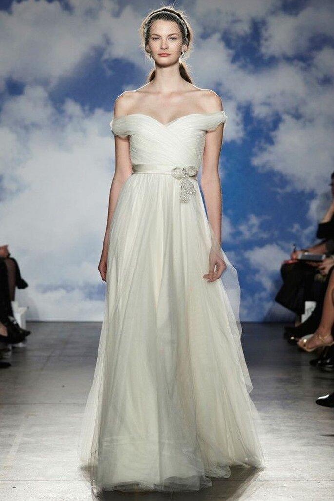 Robes de mariée 2015 avec épaule tombante - Jenny Packham