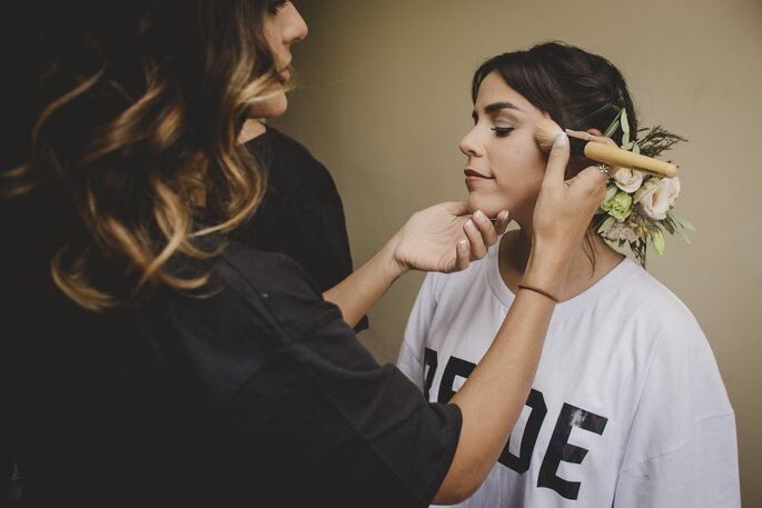 Maquiagem: Paula Pignanelli. Foto: Nala Weddings