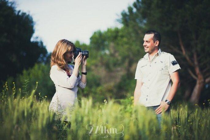 Mi boda es un reto: Ingrid y Sergio Foto: 274 km