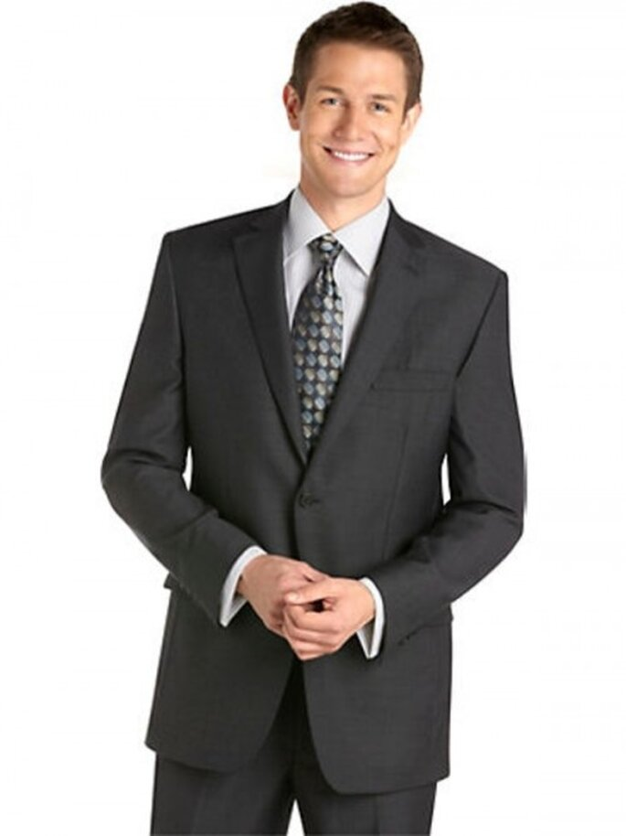 Traje formal Pronto Uomo color gris oscuro, $799.99USD