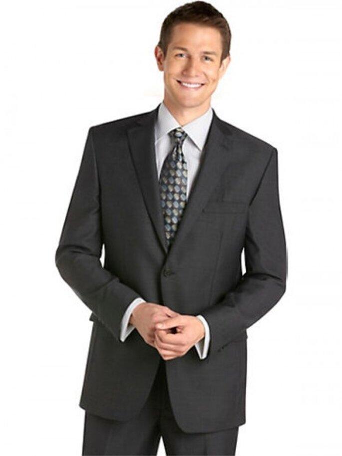 Traje formal Pronto Uomo color gris oscuro, $799.99USD