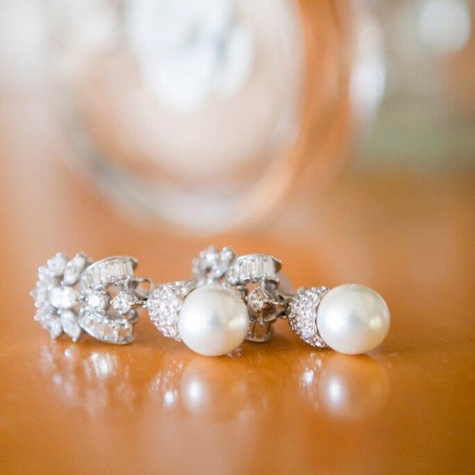 Perlas en tu look de novia - 5ive15ifteen