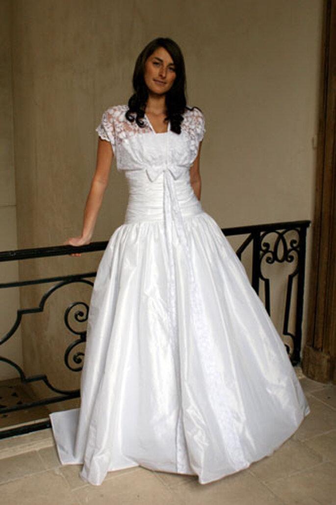 Robe de mariée Géraldine Lemonnier-Leblanc - Capucine, robe bustier en taffetas