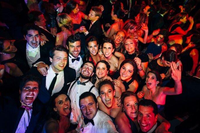Real Wedding: Una boda mágica en el Colegio de las Vizcaínas - Foto Dennis Berti