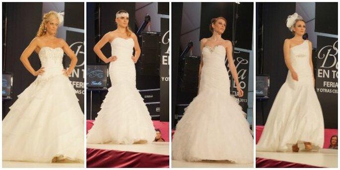 Asimmetrie, pietre preziose e spalle nude per la sposa 2014 di Factory Vertre Sala 2014
