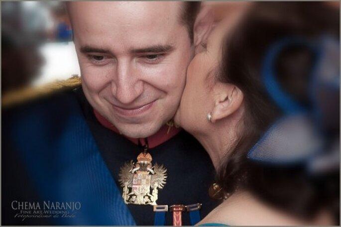 Inolvidables momentos con tu boda estilo militar. Foto de Chema Naranjo