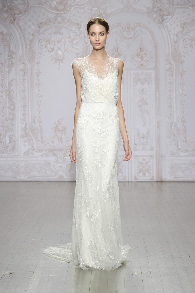 El vestido de novia perfecto para las más chaparritas - Monique Lhuillier