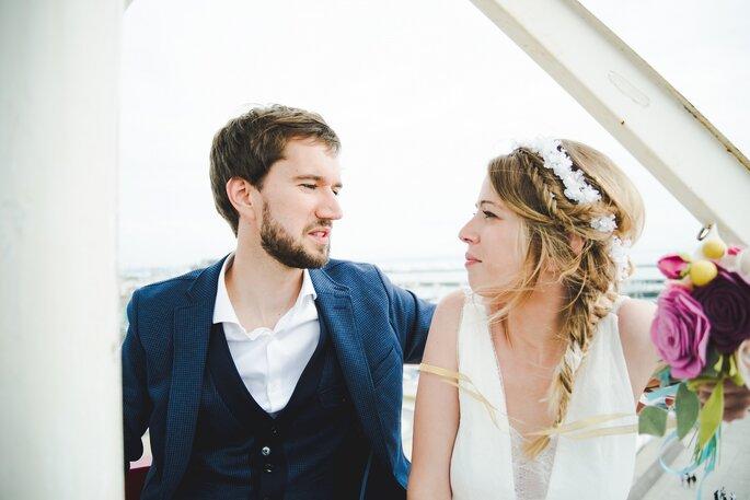 Ingrid et Baptiste / Photo : Baptiste Namur