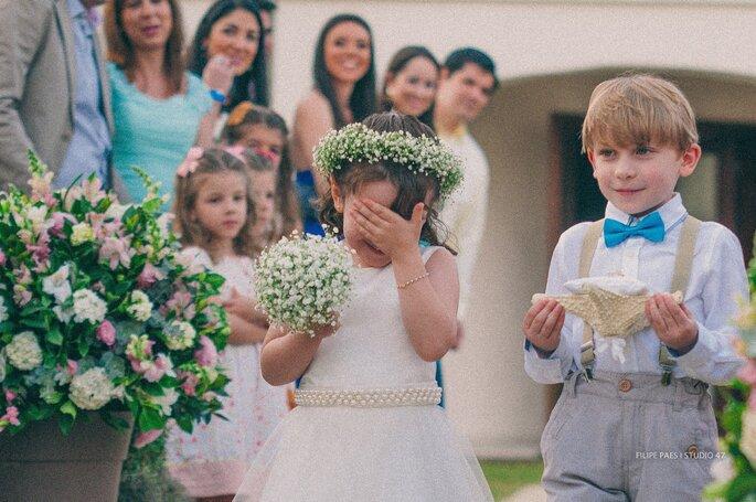 entrada daminhas casamento