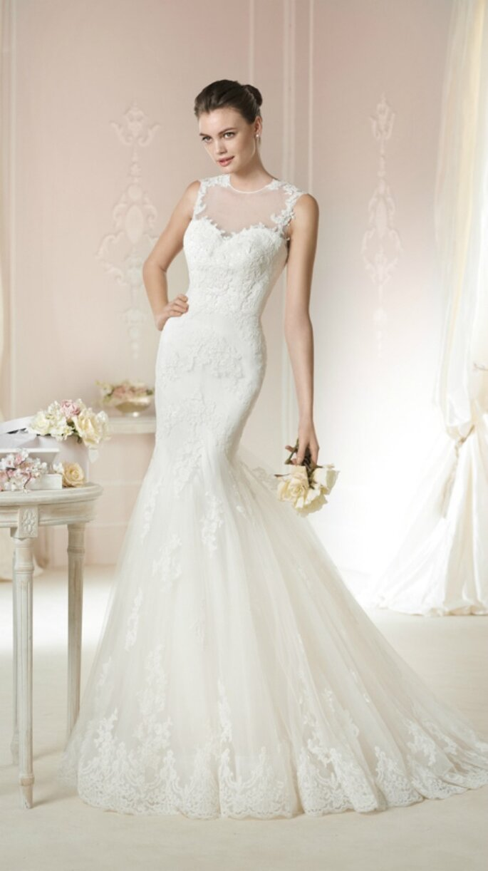 Brautmode für verspielte Frauen. Foto: White One