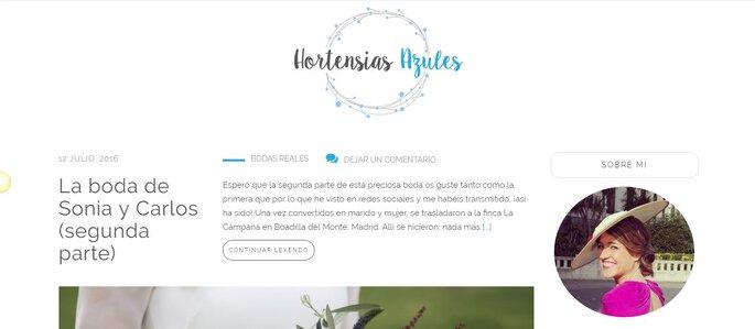 5Hortensias Azules