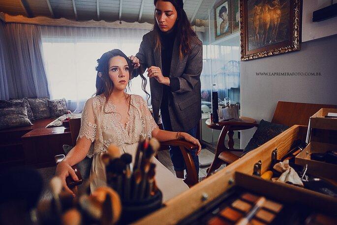 Cabelo e maquiagem: Lais Scarlaet - Foto: La Primeira Foto