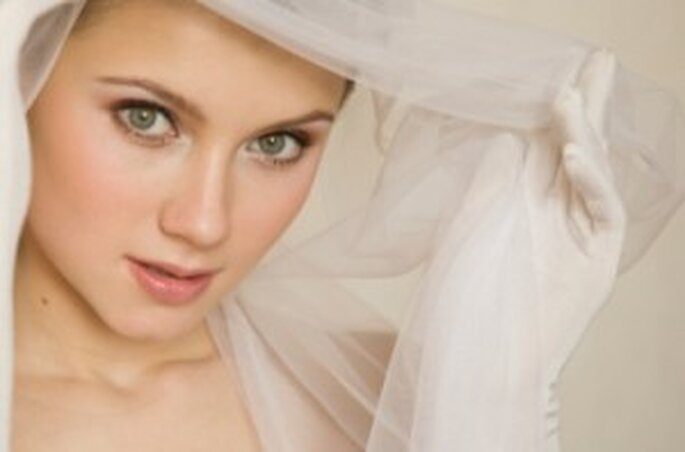 Guanti da sposa in tulle